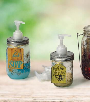 Idea Market Lotion and Soap Mason Jars