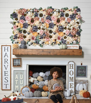 How To Make a Floral Wall Art