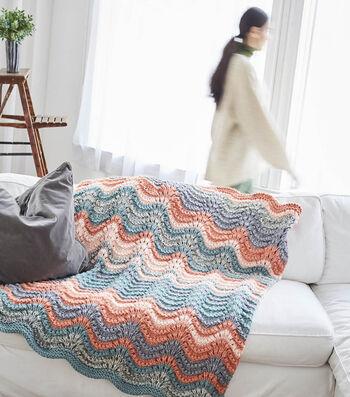 How To Make a Lion Brand Wool Ease Elbridge Afghan