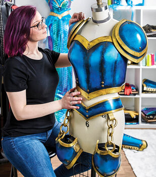 How To Make a Foam Cosplay Armour