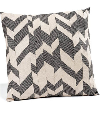Chevron Patch Pillow