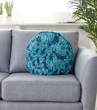 How To Make A Loop Round Pillow