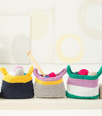 How To Make Bright Baskets