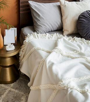 How To Make a Textured Fleece Blanket