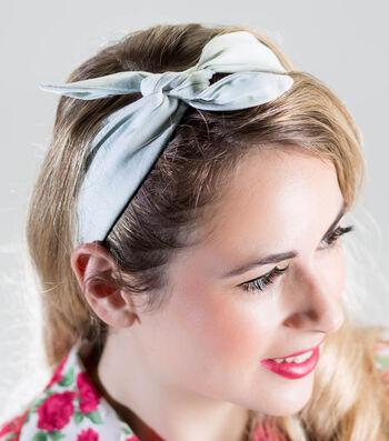 Retro Inspired Fabric Headband