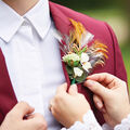 How To Make a Feather Boutonniere