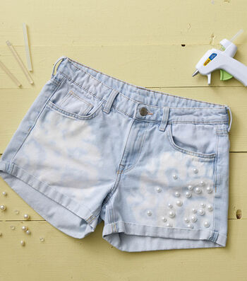 How To Make Bleached and Pearl Shorts