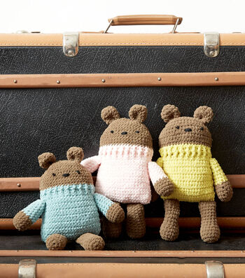How To Make A  Crochet Square Bear