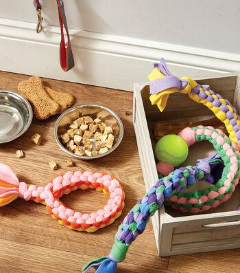 How to Make Fleece Dog Toys
