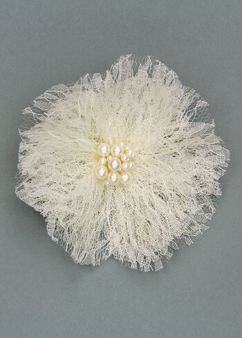 Offray Lacey Flower Pin Clip