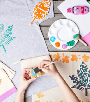 How To Make a Block Printing for Kids