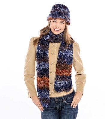 Easy Chevron Hat & Scarf to Crochet