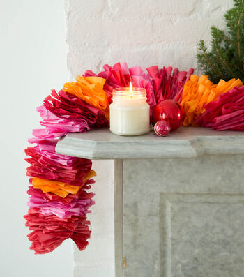 How To Make A Dyed Coffee Filter Garland