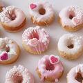 How To Make Mini Valentine\u0027s Day Donuts