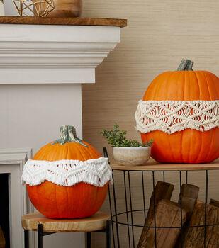 How To Make a Macramé Pumpkins