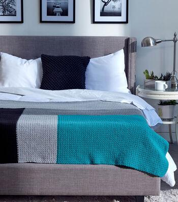 How To Crochet A Modern Log Cabin Crochet Blanket