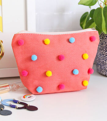 How To Make a Coral Dyed Travel Pouch