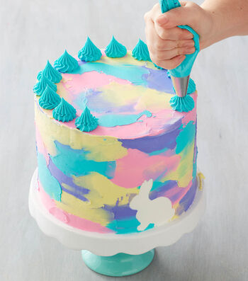 How To Make a Watercolor Cake