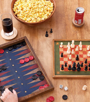 How To Make a Vintage Checker Board