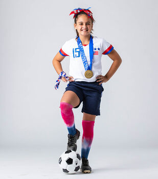 How To Make A USA Women's Soccer Player Costume
