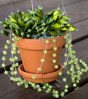 How To Make A Looking Succulent Jewelry Decoration
