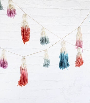 How To Make Dip Dyed Tassels
