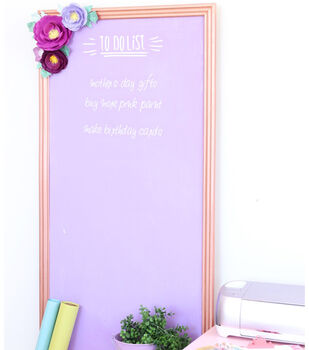 How To Make A Craftroom Chalkboard