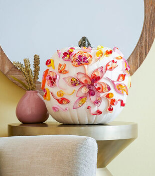 How To Make a Quilled Pumpkins