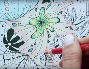 Coloring Tips & Techniques - Colored Pencils