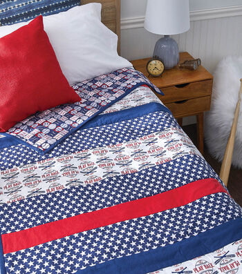 How To Make a Baseball Quilt