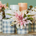 How To Make a Dusty Pink Floral Arrangements