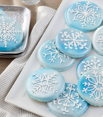 How To Make Shimmering Snowflake Cookies