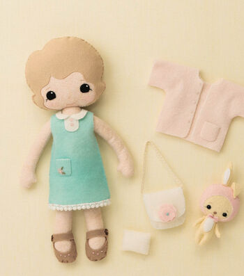 How To Make Simplicity Felt Doll and Clothes