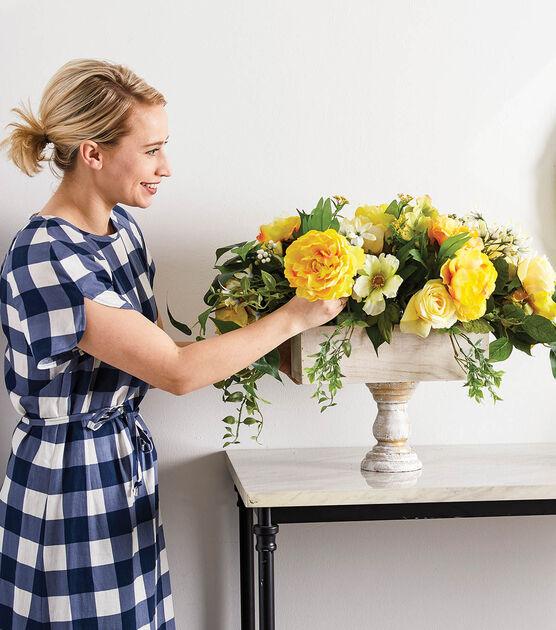 How To Make Large Table Floral Arrangement Online Joann