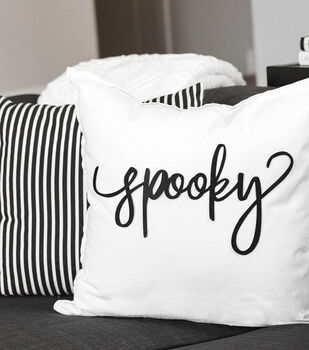 How To Make a Spooky Pillow
