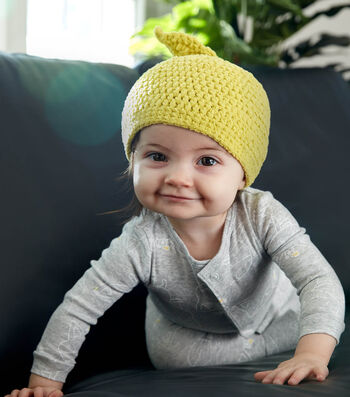 How To Make A Bernat Lil Sprout Crochet Hat