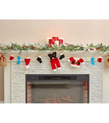How To Make A Santas Wardrobe Garland
