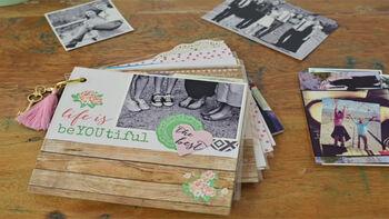 Crafternoon Mini Keepsake Book