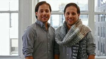 Super Scarf for Super Twin Brothers