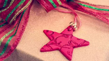 Make an Embossed Clay Star Ornament