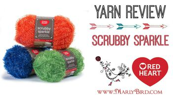 Yarn Review on Scrubby Sparkle