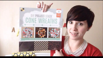 DCWV DIY Project Stack - Cone Wreaths