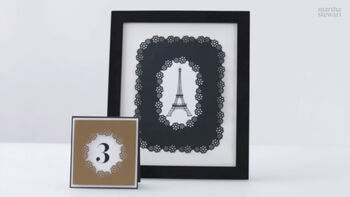 Explore beautiful paper craft project ideas, using the Martha Stewart Crafts Frame Border Punch