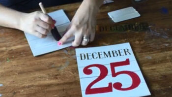 The Crafternoon Holiday Stencil Kit