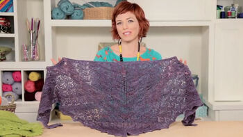 How to knit a Tri-Light scarf with Vickie Howell