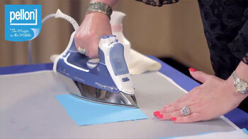 Learn how to stabilize and add body to fabric with the Pellon 987F Fusible Fleece