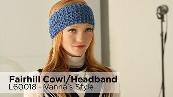 Lion Brand Fairhill Cowl And Headband