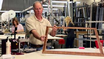 Custom Framing at Jo-Ann: Watch How a Frame is Built