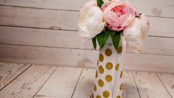 How-To: Bloom Room Polka Dot Pitcher