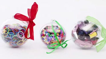 Make Personalized Gift Ball Ornaments